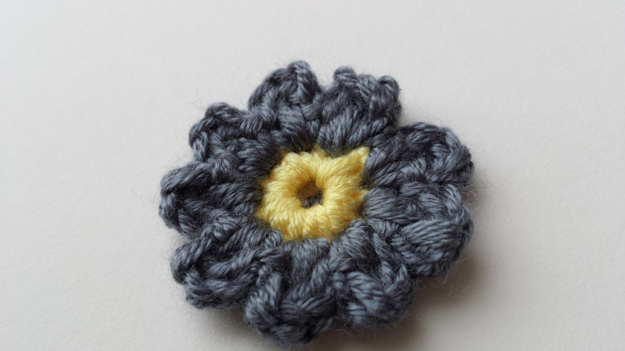 A Little Crochet Flower